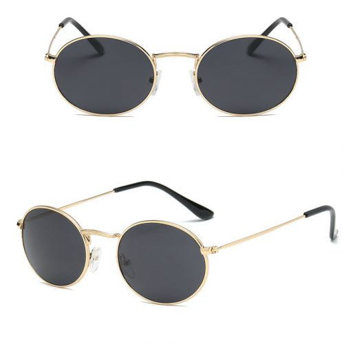 small oval female sunglasses