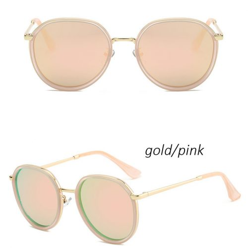 women vintage round polarized sunglasses