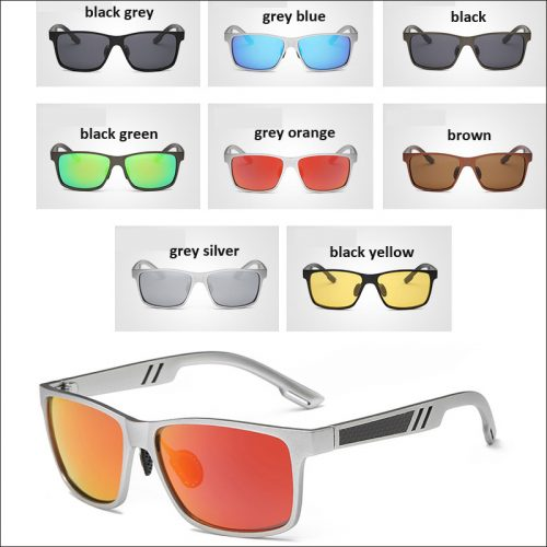 Driver night polarized sunglass