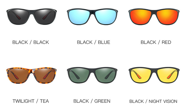 Mens Polarized Motorcycle Sunglasses