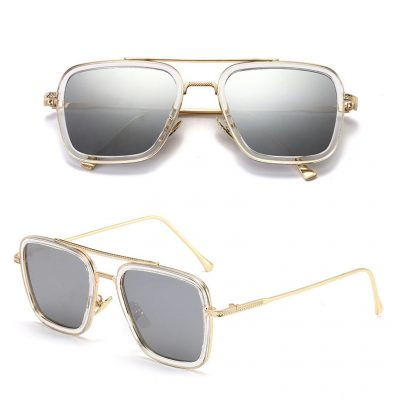 iron man sunglasses spider man GOLD SILVER