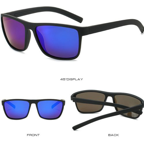 square polarizes sport sunglasses