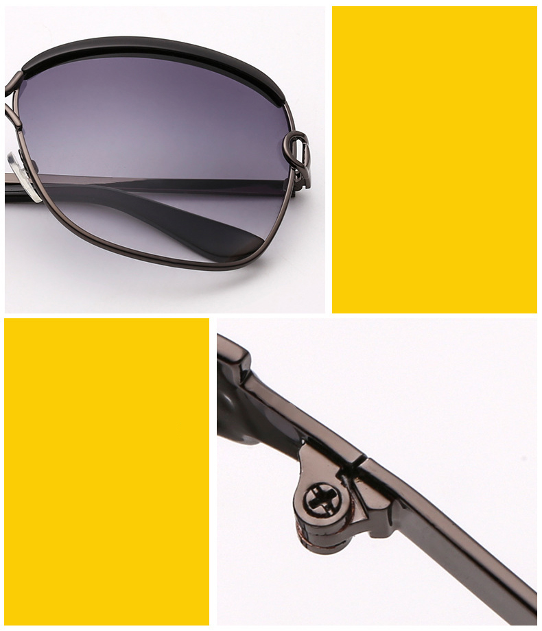 Luxury square sunglasses vintage