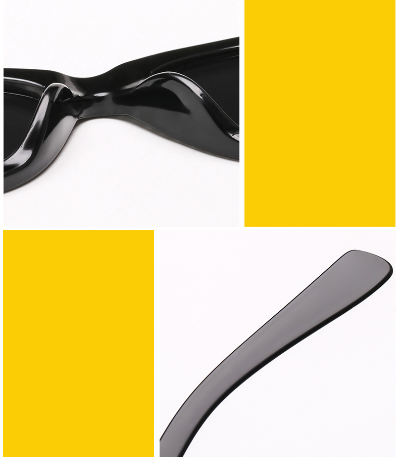 Slim retro cateye sunglasses
