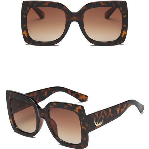 Wholesale square oversized sunglasses women FLXX01