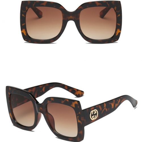 square oversized sunglasses women