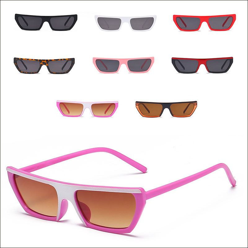 Narrow Cateye Women Sunglasses