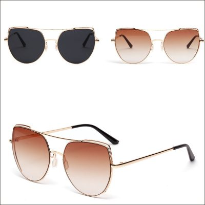 Cateye retro women sunglasses