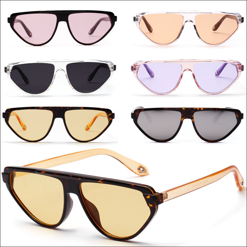 Oversized oval women sunglasses