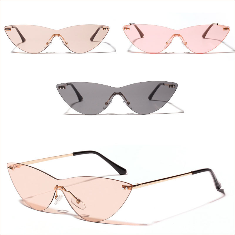 One piece cateye sunglasses