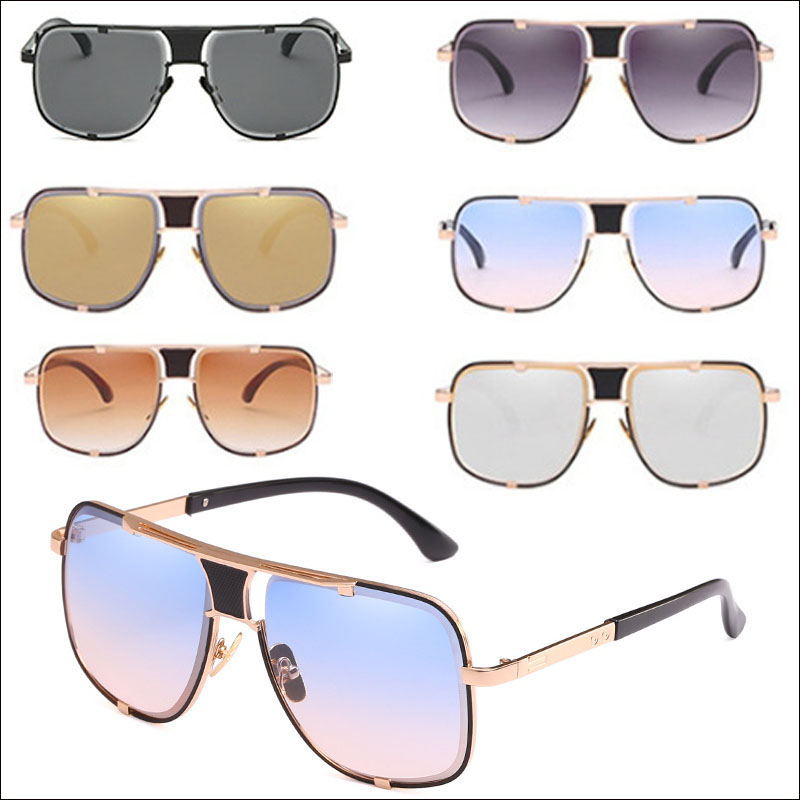 Classic oversized square sunglasses