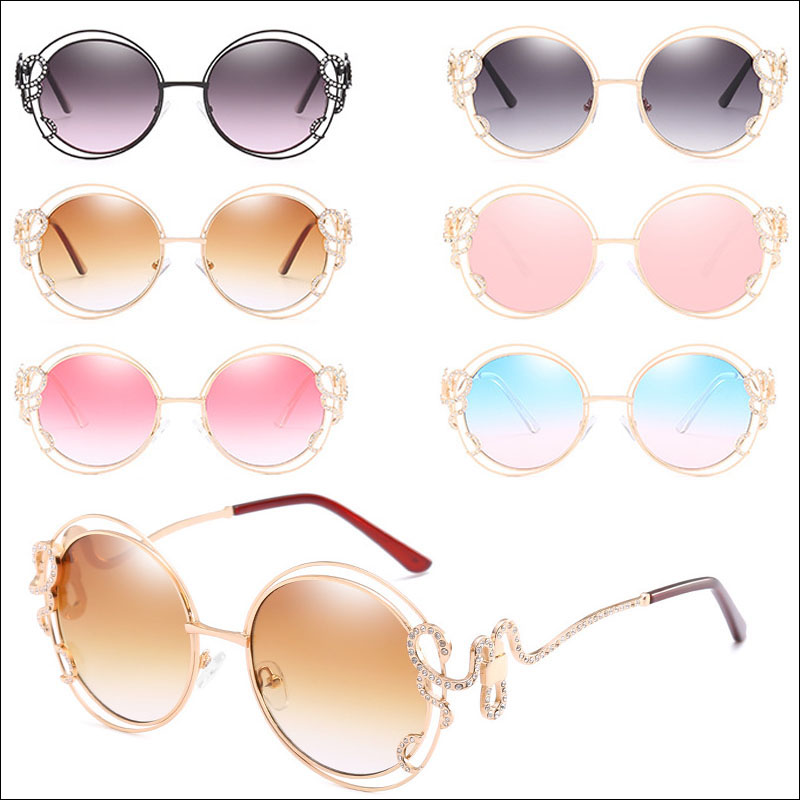 Irregular luxury women sunglasses