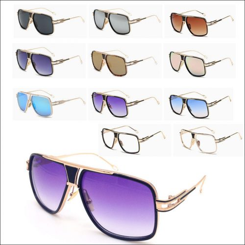 Overized mens aviator sunglasses