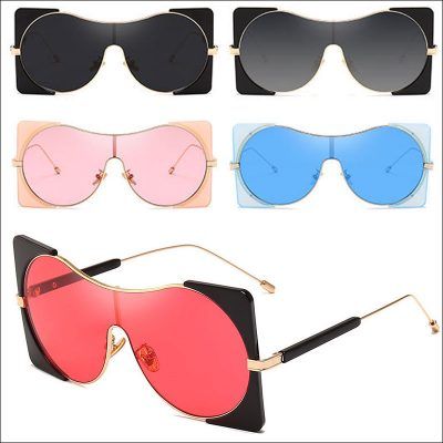 Round retro women sunglasses