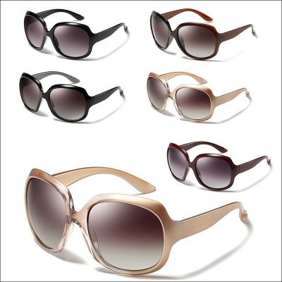 Round oversized women sunglasses