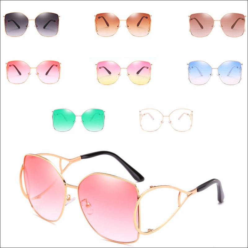 Trend new hollow sunglasses