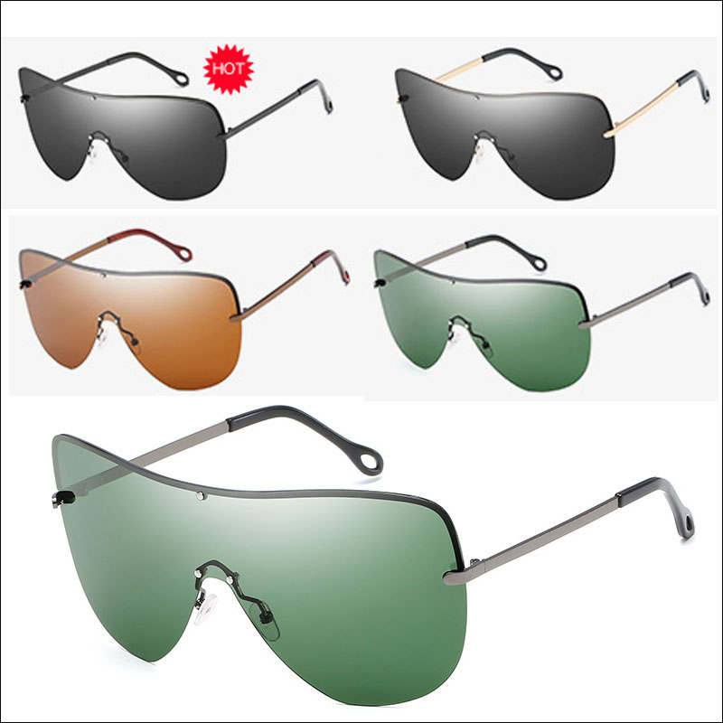 Polarized windproof men sunglasses