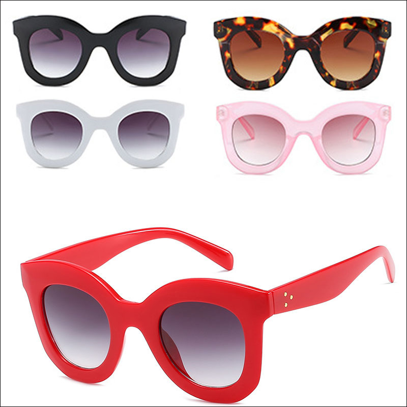 Fashion lady oversized sunglasses