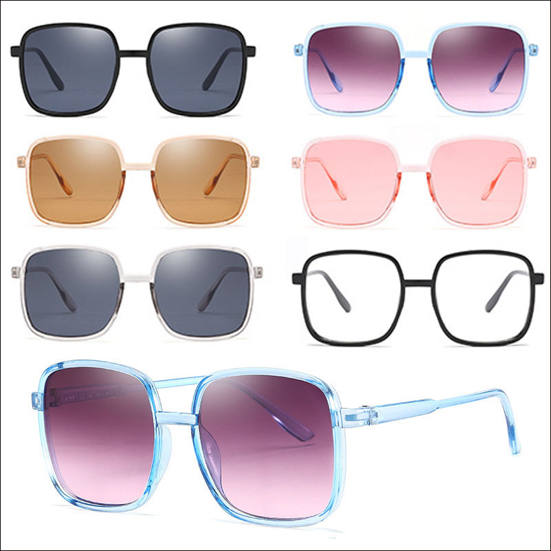 Women square 2019 sunglasses