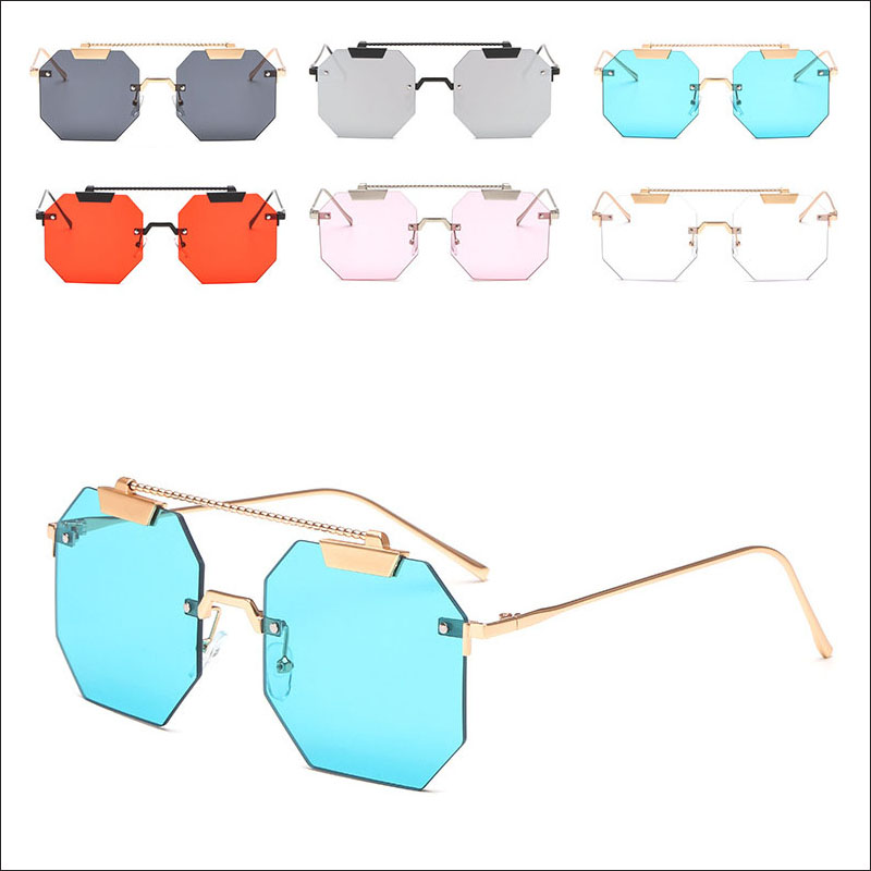 Polygon square sunglasses