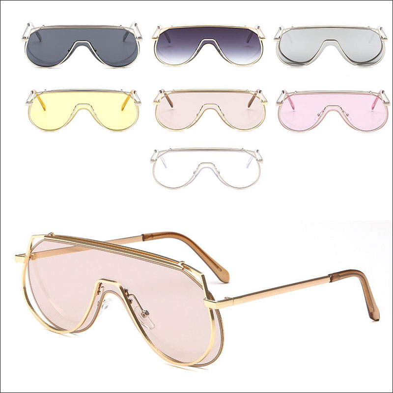 oval oversized women sunglasses