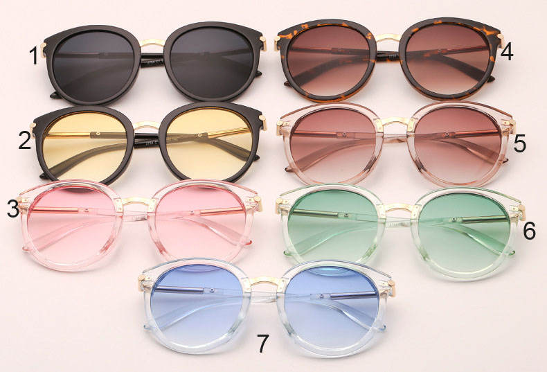 designer crystal sunglasses candy colors