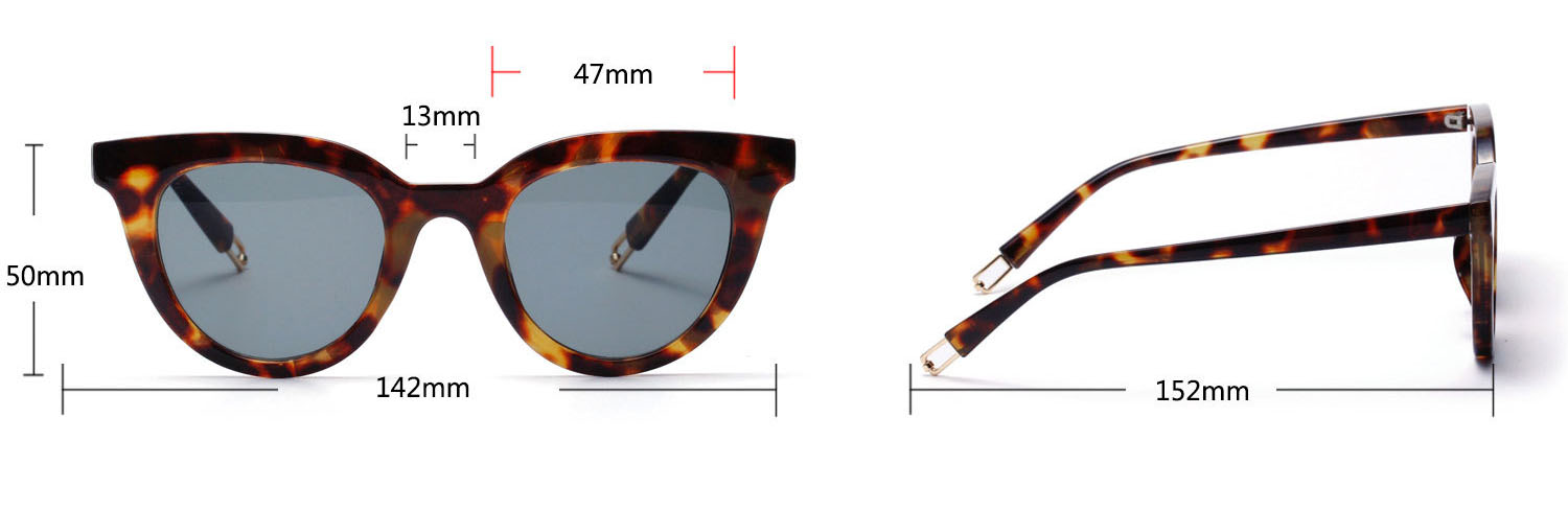 2019 retro cateye sunglasses