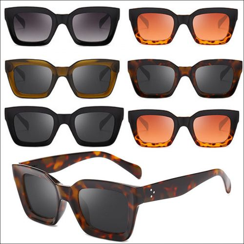 Men's square sunglasses styles