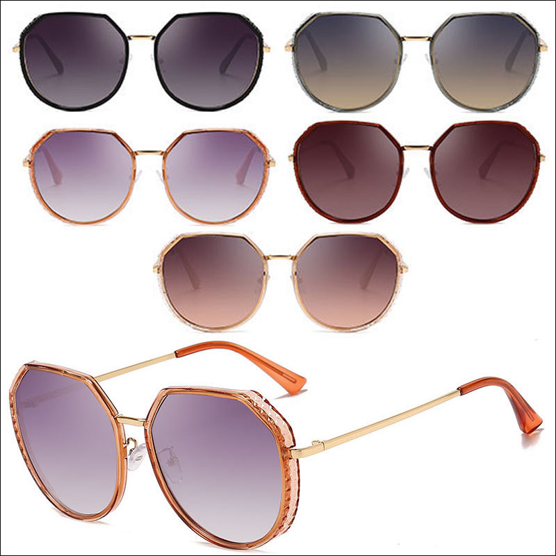 Fashion oversized unisex sunglasses