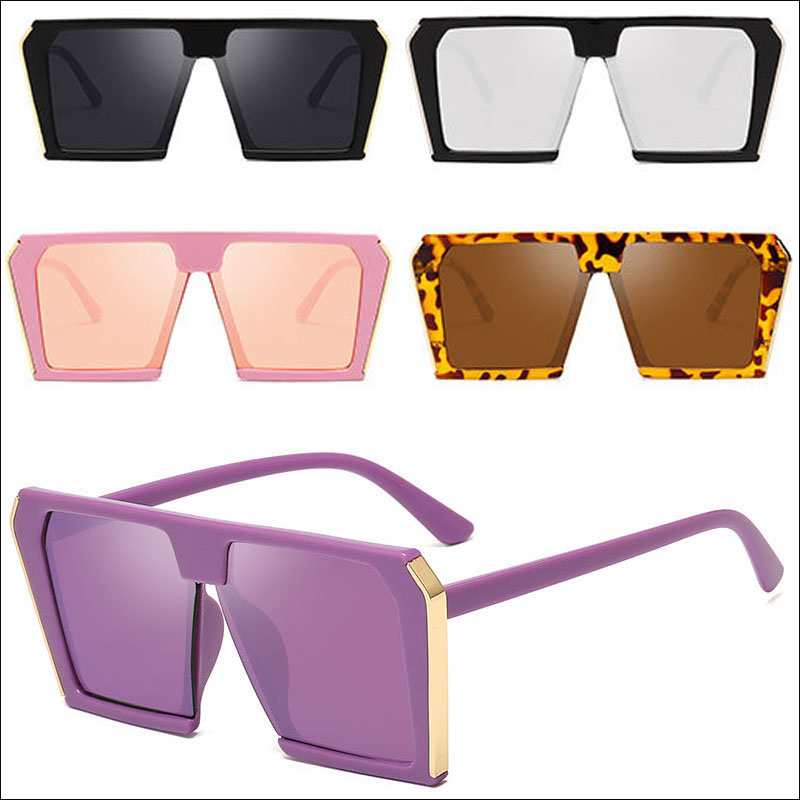 Oversized square sunglasses men
