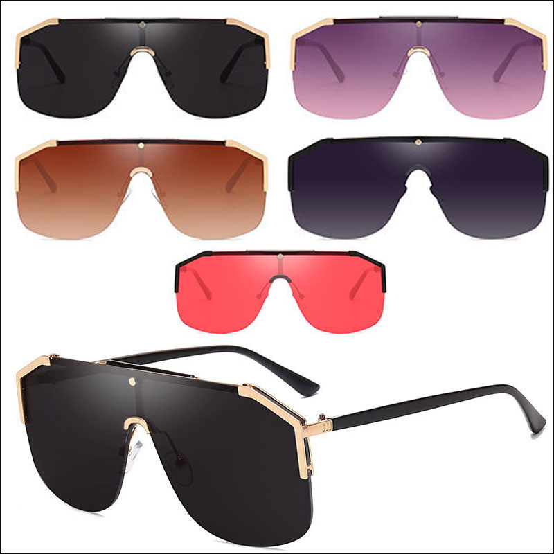 Oversized sunglasses for men