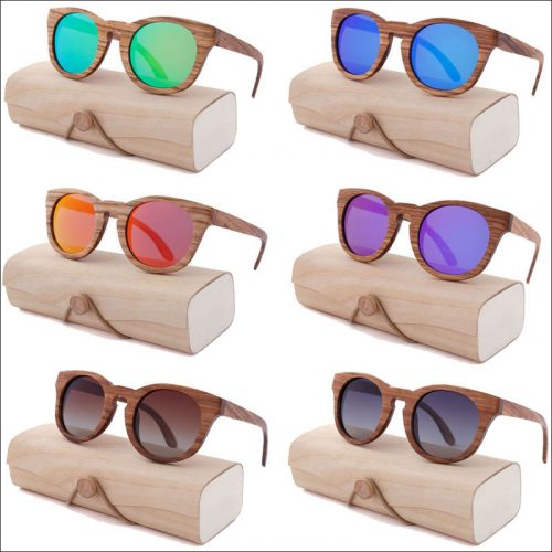 Custom wood sunglasses