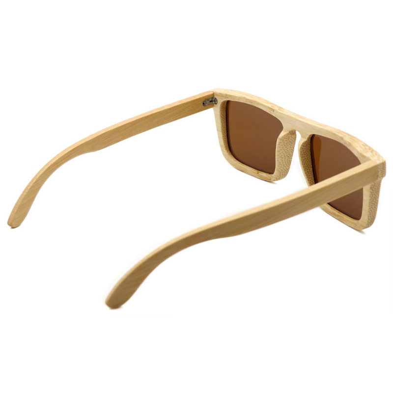 Men's bamboo sunglasses