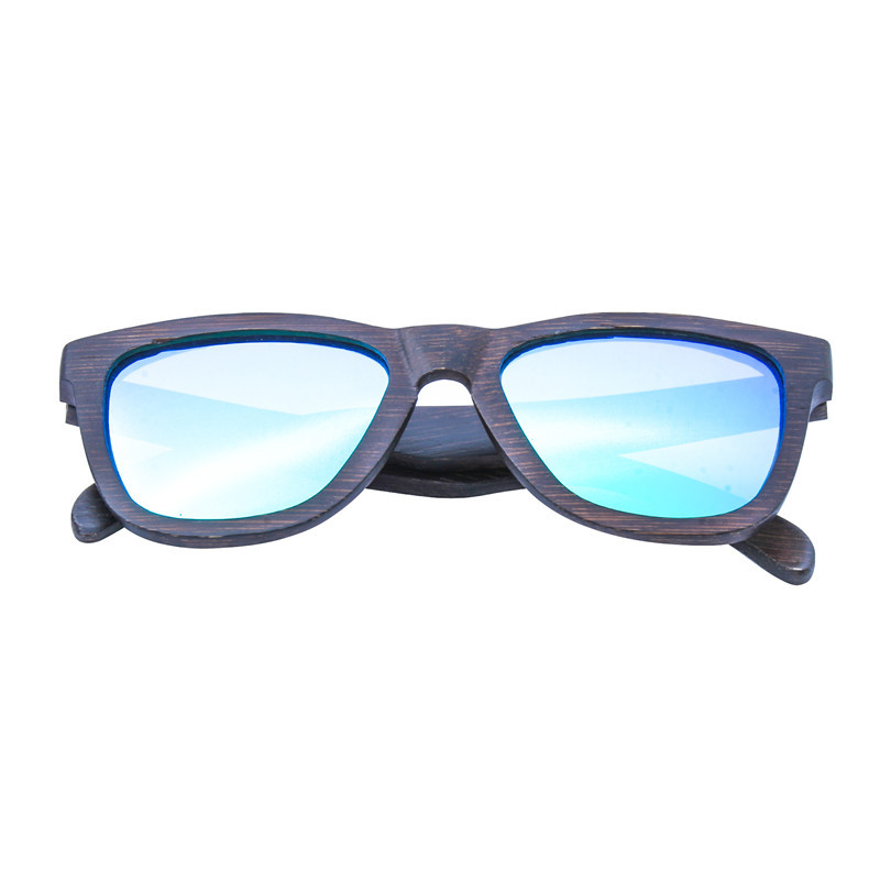 Bamboo cateye sunglasses