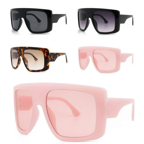 Designer square sunglasses big face ,#YJ5251