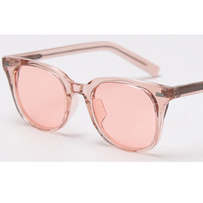 Designer New Fashion Cat Eye Sun glasses Women Designer Oversized Rimless J0711