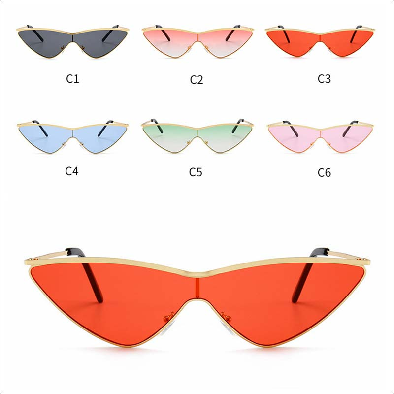 Designer Siamese cateye sunglass shades wholesale #F2510