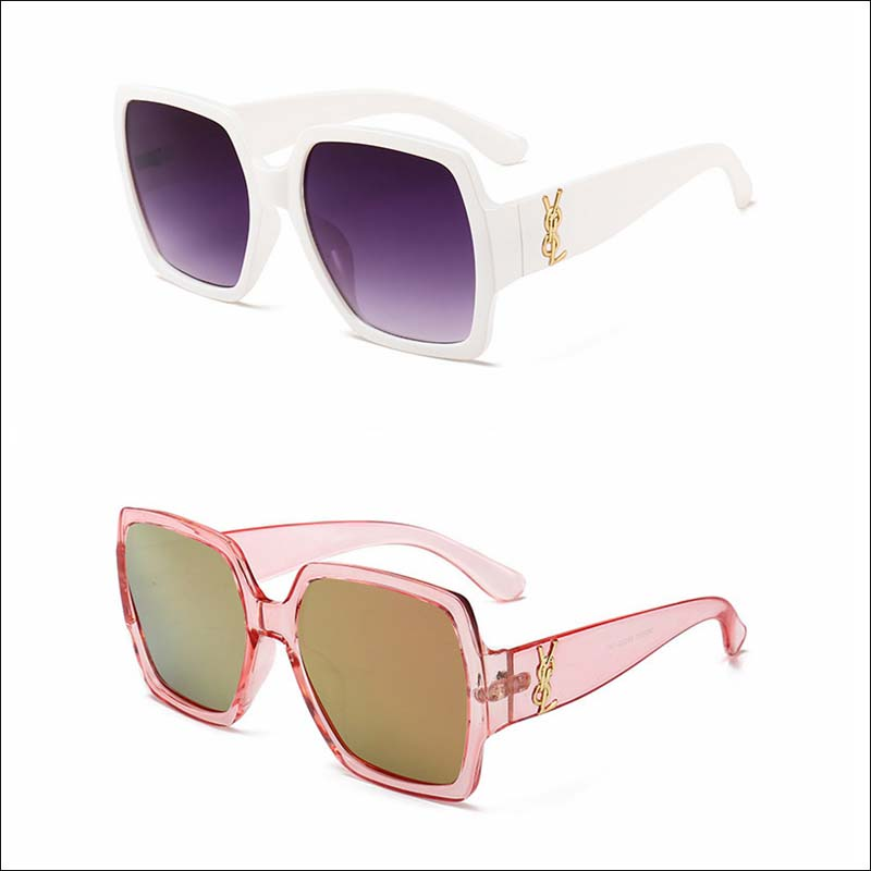 Designer square oversized 2021 sunglass shades wholesale #F2512