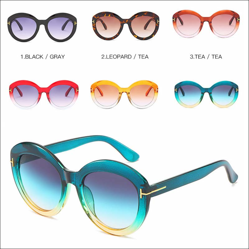 Designer two tone vintage sunglass shades wholesale #F2514