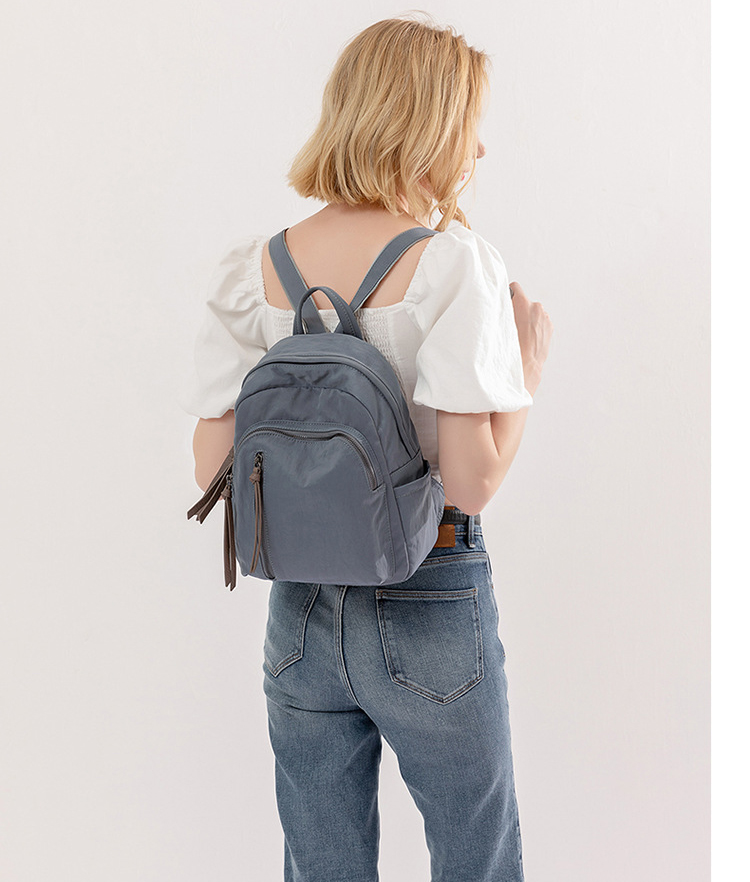 Wholesale Designer Oxford Backpack in trend stree bag for womens A0942