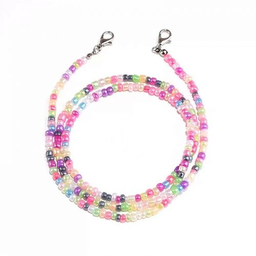 Fashion beaded chain for face mask sunglasses wholesale S1006