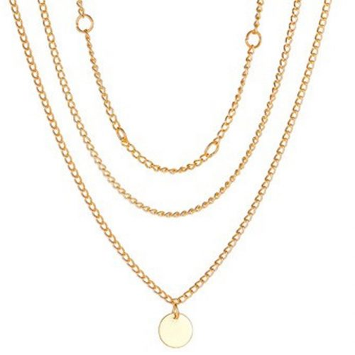 Wholeslae Multi-layer hip-hop thick necklace N0124